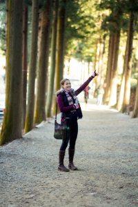 Meg likes pine trees.
