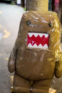 Domo-kun, just hanging out.